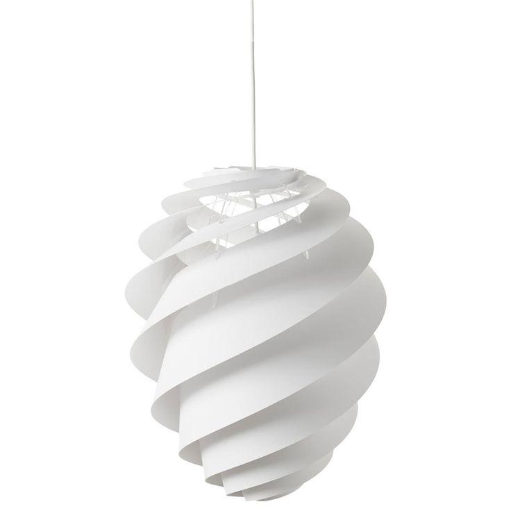 Swirl pendel no 2 M, hvit i gruppen Belysning / Lamper / Taklamper hos ROOM21.no (116780)