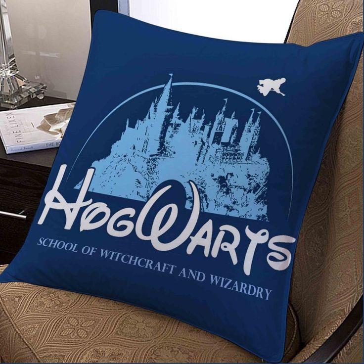 Harry Potter Disney Hogwarts Movie custom pillow case 20x20 inches two sides #Disney #Modern