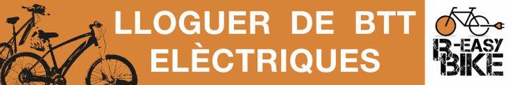 Pancarta per a B-easy Bike SCP Refugi Bages (Port del Comte)