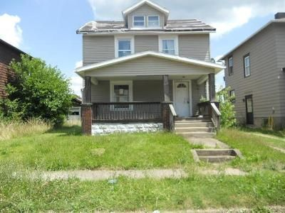 Cheap $4,600 property for sale located at  Sherman Ave Sharon, PA 16146, Sharon, PA 16146, Mercer County, 3 Beds, 2 Baths, 1100 Sq/Ft