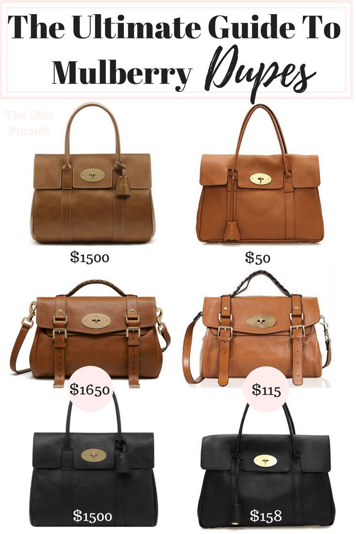466472a6fc9 Steal The Real: Mulberry Bayswater Look Alike Bags ($1450 vs $50 ...
