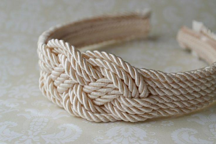 DIY: How to make a Rope Knot Headband