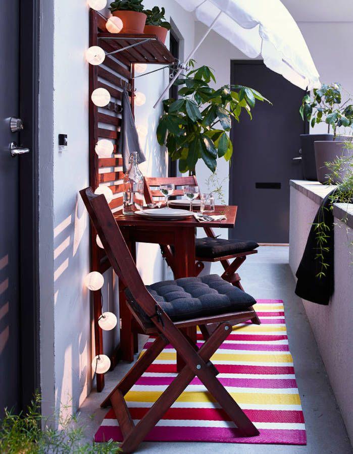 20 Idees Pour Amenager Un Petit Balcon Decoration Balcon Deco
