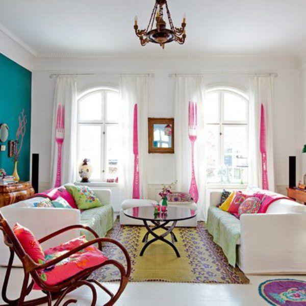 Bright Colorful Home. Kitchen Interior So Bright! My Living Room Design  Board Bright Colorful