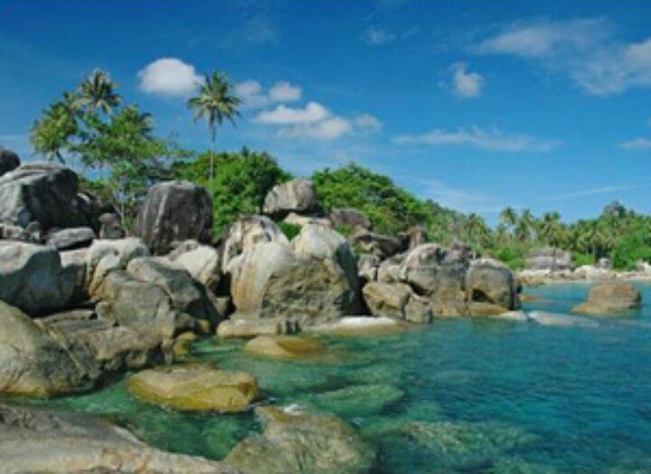 Matras beach rock, Bangka Belitung