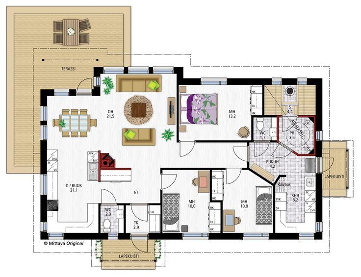 Emilia 120 » Sauna ja pesuh ja wc ja khh tosi hyv't. muutenkin ok, vain yksi huone puuttuu ja v'h'n iso