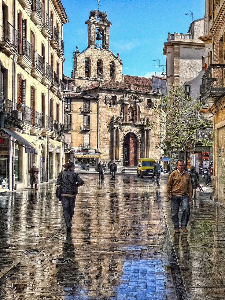 Salamanca after the rain by Daniel Schwabe on 500px