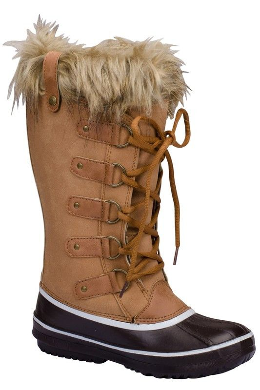 Scarlette Snow Boot in Camel