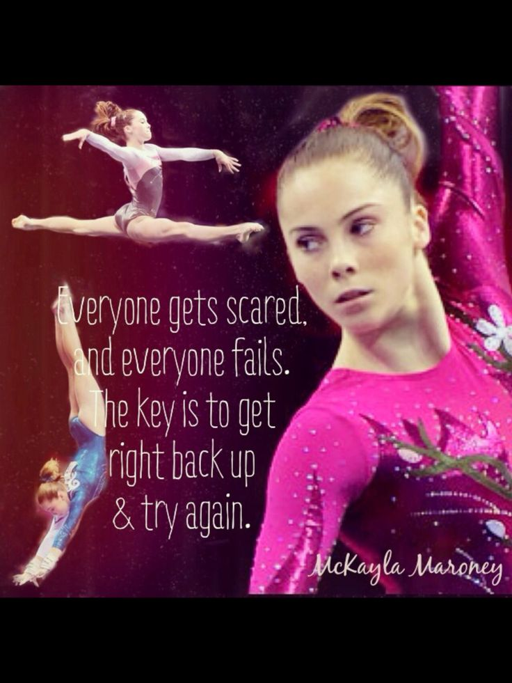True everyone does get scared mckayla maroney