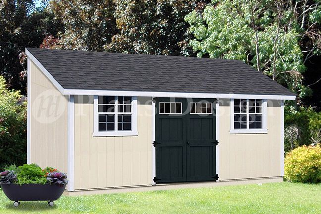 10 X 20 Outdoor Structure Building Storage Shed Plans Lean To D1020l Building A Shed Storage Shed Plans Backyard Sheds