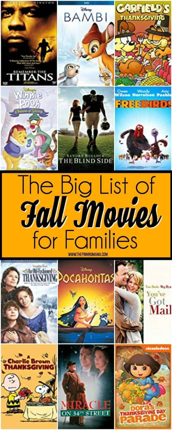 Pin By Ariana Reyes On Fall Activities In 2020 Fall Family Movies Movie Night For Kids The Fall Movie