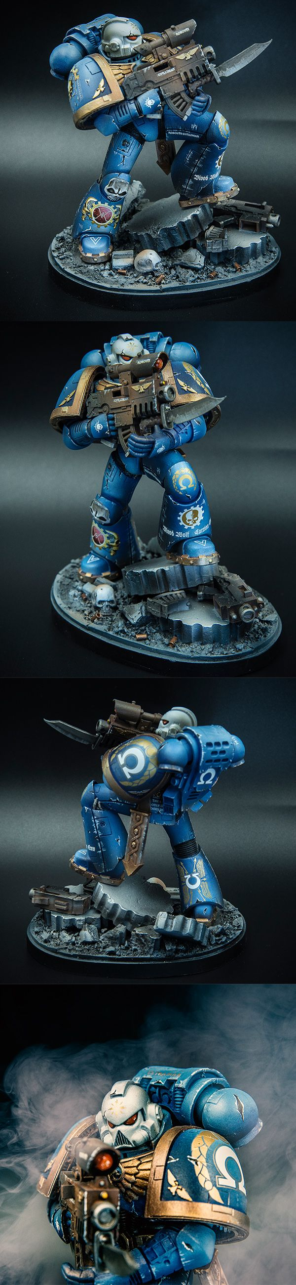 large scale space marine