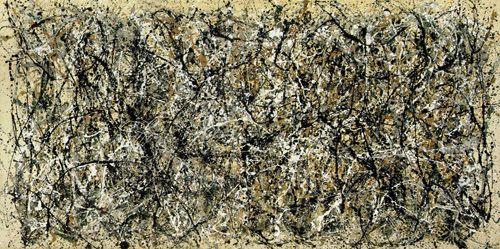 One, Number 31 Art Print by Jackson Pollock Easyart.com