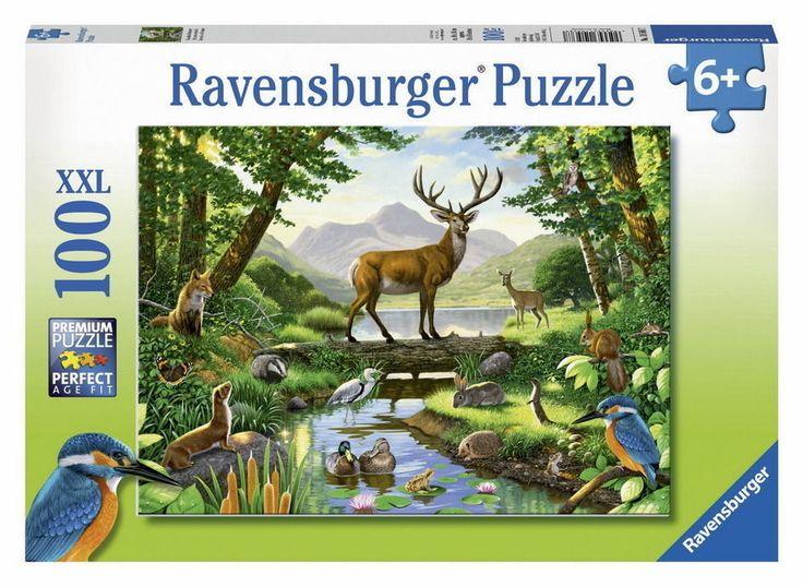 Ravensburger - Woodland Harmony Puzzle 100pc