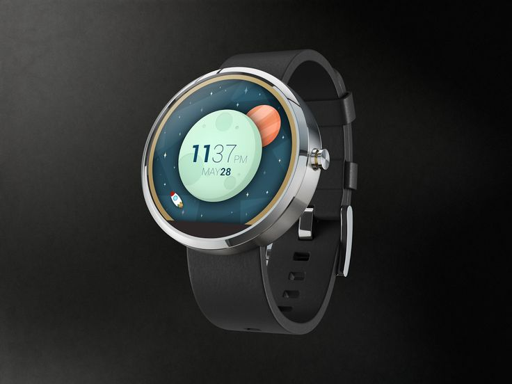 space-and-time Awesome Moto 360 watch face we'd love to see. #smartwatch #moto360