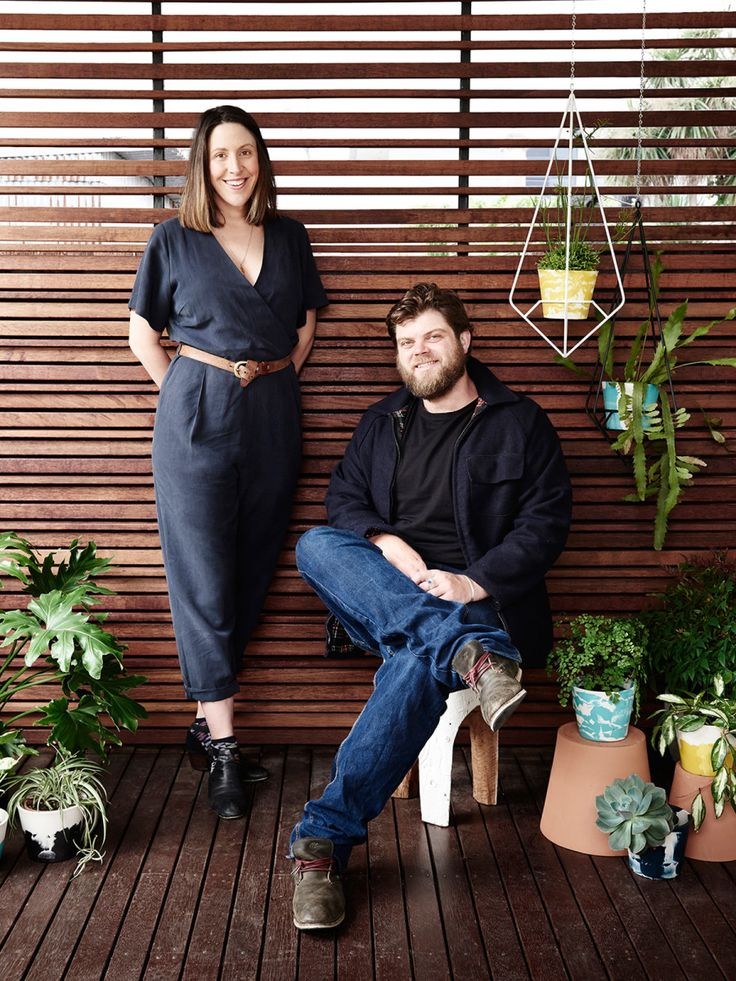 Bianca Lambert and Thomas Wilson are the industrious young couple behind new local design studio Capra Designs. We're loving their debut range of hand poured resin plant vessels and powdercoated metal plant stands, all made in Melbourne!