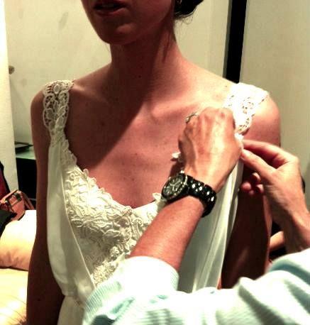 Work in progress. Wedding dress.