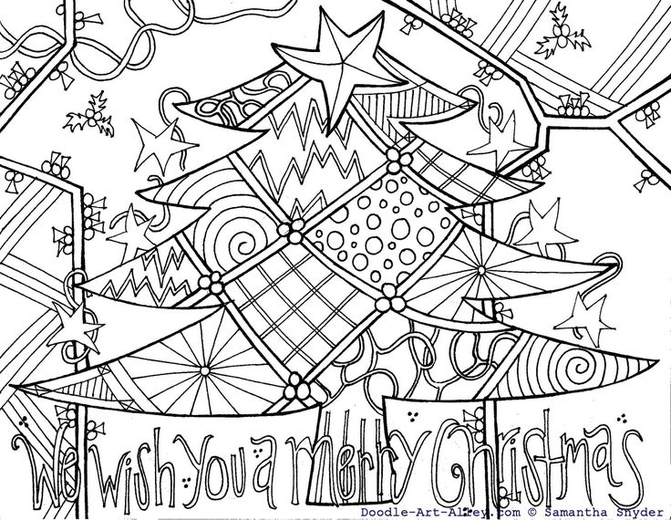 doodle art coloring pages and a lot of abstract coloring printables for adults