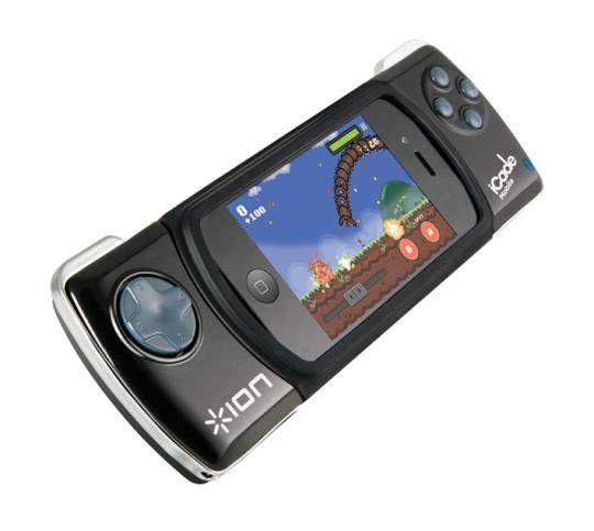 iCade Mobile for iPhone 3GS 4S and iPod touch 4G - Classic handheld control over your favorite iPhone and iPod touch games Get serious about your mobile gaming with iCade Mobile, the ultimate handheld ...