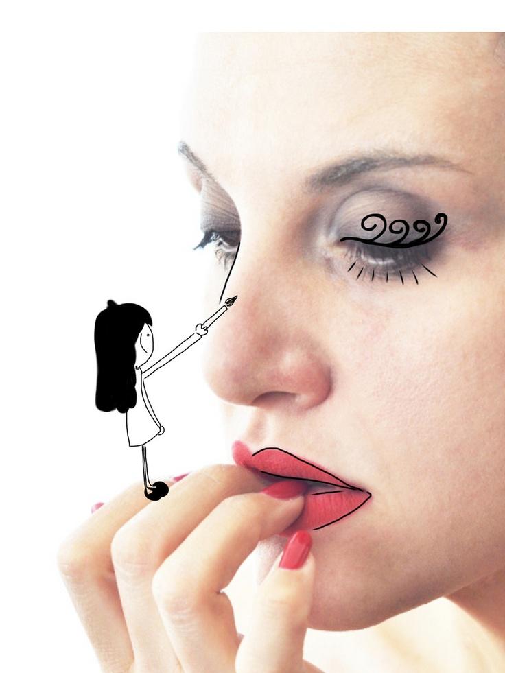 Draw me #gikitchen #maghettastreghetta #gilr #illustration #girl