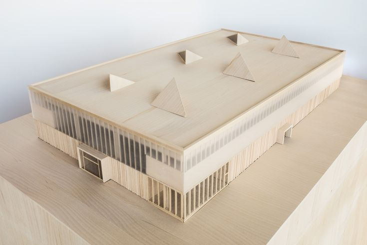 Temporary Market Hall Physical model 2