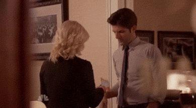He's been a great kisser since the beginning. | 28 Reasons Ben Wyatt Is The Best TV Boyfriend Of All Time