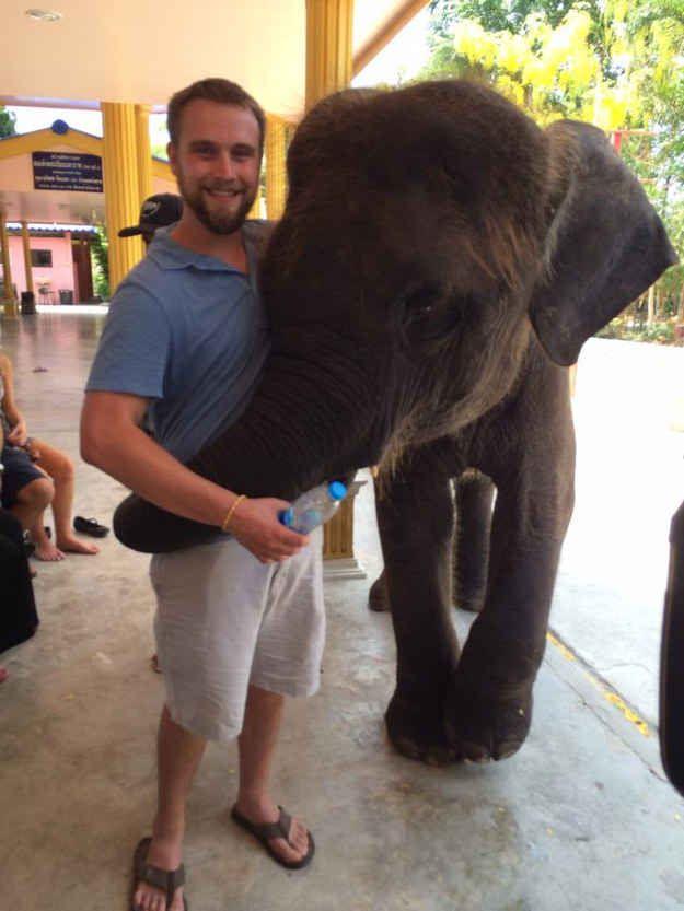 The Brand-New Elephant Hug