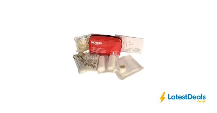 Oxford First Aid Kit Rider Equipment Motorcycle Bike Travel at Halfords/ebay, £1