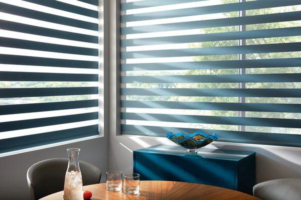 One Shade Layers Of Light Hunter Douglas Window Shades Custom Blinds
