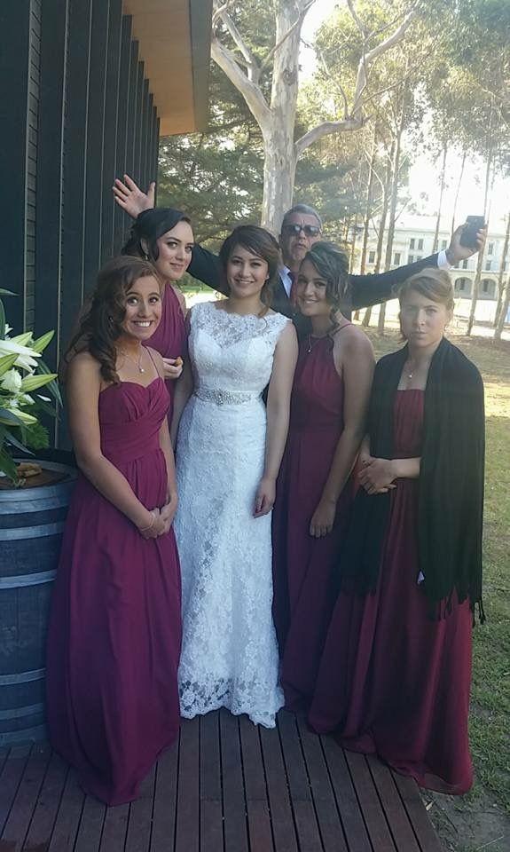 Werribee mansion. Pavilion. Bride. Bridesmaids. Groomsmen. Family. Friends.