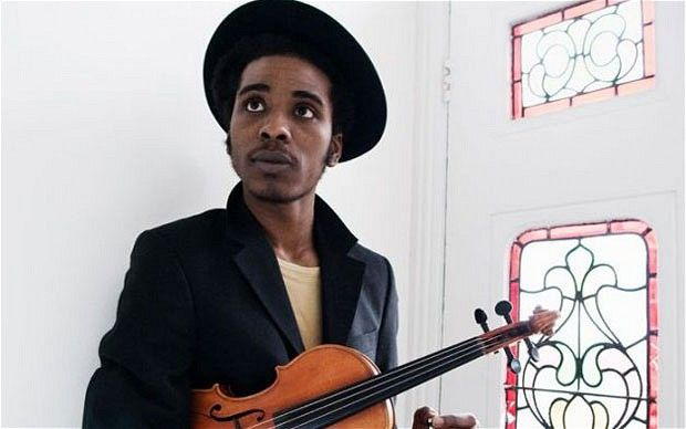 Marques Toliver: yes please thank you, his voice and his violin skills will kill you/make you melt even more than his biceps/beautiful face will!