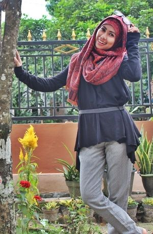 #ClozetteID 3HijabCasual #HijabStyle