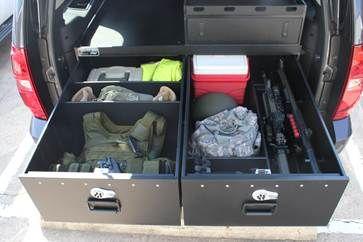 Suv Storage Drawers Truck Storage Car Storage Trunk