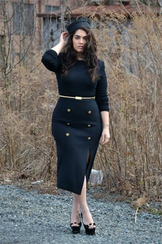 Nadia Aboulhosn curvy girl with singular style who won American Apparel's XL