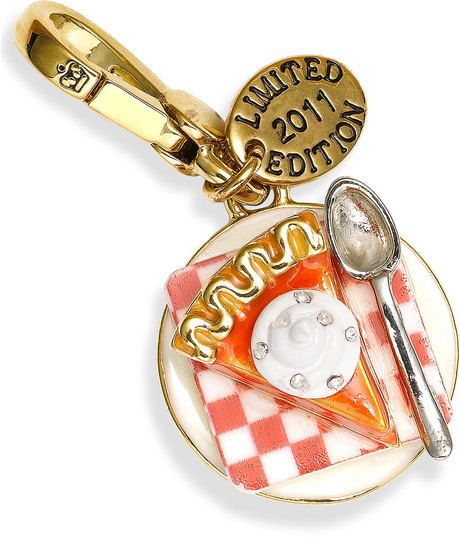 juicy couture charms | Juicy Couture Pumpkin Pie Charm (limited Edition) in Gold (pumpkin pie ...