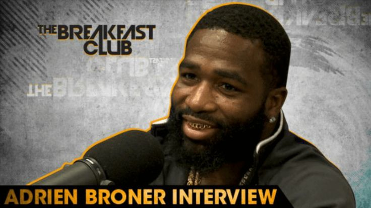 Adrien Broner Tells The Breakfast Club That He Can Beat Floyd Mayweather, Jr.