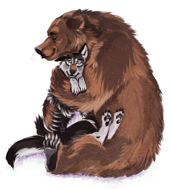 Bear hug by Kethavel