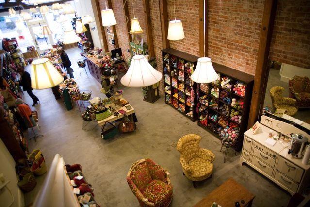 A beautiful yarn shop with a coffee bar?  Yes, please!