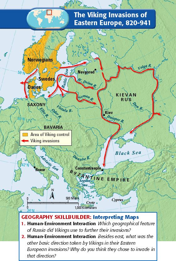 The Viking Invasions of Eastern Europe, 820-941