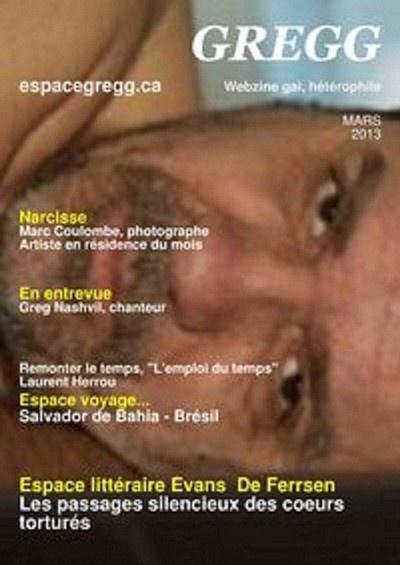 La Une de GREGG webzine du mois de Mars http://espacegregg.ca/webzine/  Cliquez le lien pour le lire gratuitement