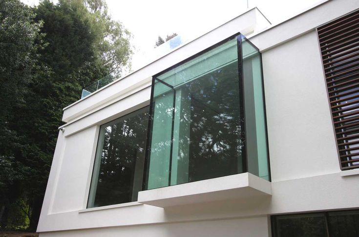 A bespoke Oriel boxed window to contemporary home build in Oxted