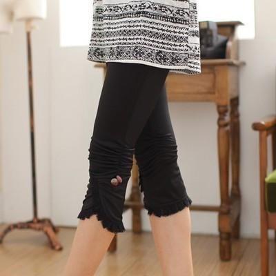 2017 New Summer styke Thin Women Pants Sexy lace fastener plus size 4XL 100kg Woman cropped trousers women's leggings