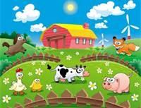Cartoon Farm Wallpaper - Bing Images