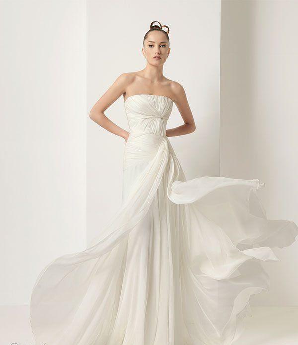 2011 Silk Satin Wedding Dress 1