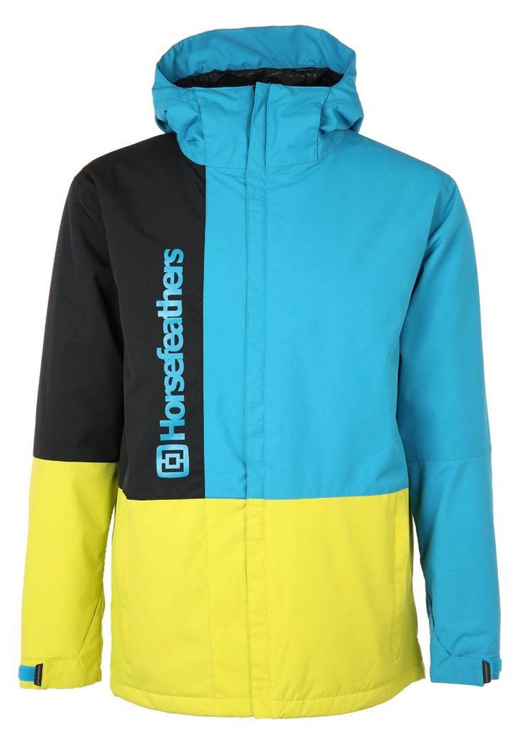 Horsefeathers TAYLOR Kurtka snowboardowa blue 566.10zł #moda #fashion #men #mężczyzna #horsefeathers #taylor #kurtka #snowboardowa #blue #niebieski #czarny #black #męska #sportowa