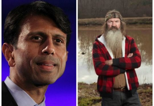 "Louisiana Governor, Bobby Jindal, Defends Duck Dynasty Star, Phil Robertson, for Expressing His Faith & Declares, ""It Is a Messed Up Situation When Miley Cyrus Gets a Laugh, and Phil Robertson Gets Suspended!"" - See more at: http://www.libertynews.com/2013/12/louisiana-governor-bobby-jindal-defends-duck-dynasty-star-phil-robertson-for-expressing-his-faith-declares-it-is-a-messed-up-situation-when-miley-cyrus-gets-a-laugh"