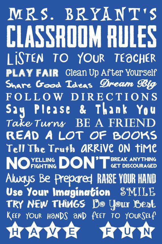 Classroom Decor. Teacher Gift. Teacher by LittleLifeDesigns