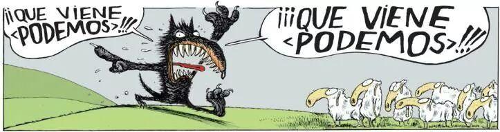 El lobo y Podemos