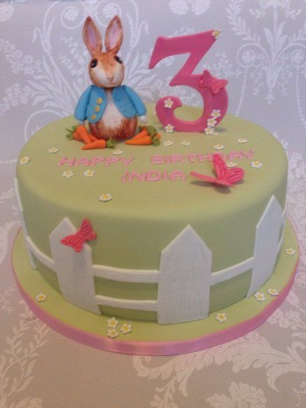 17 best peter rabbit cake images on Pinterest Peter rabbit cake