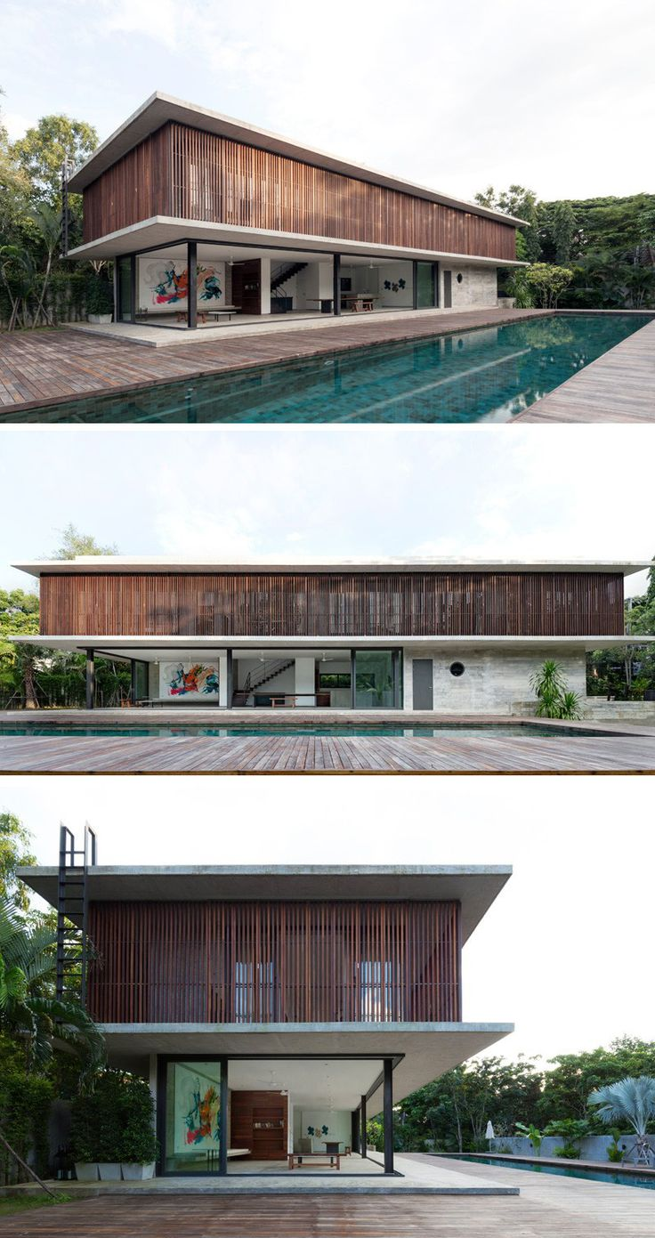 Architectkidd have designed a house for a Swiss family living in Bang Saray, Thailand.